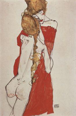 Egon Schiele Matka i córka