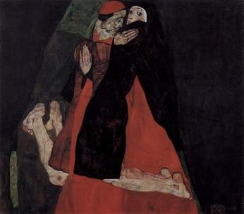 Egon Schiele- Kardynał i zakonnica