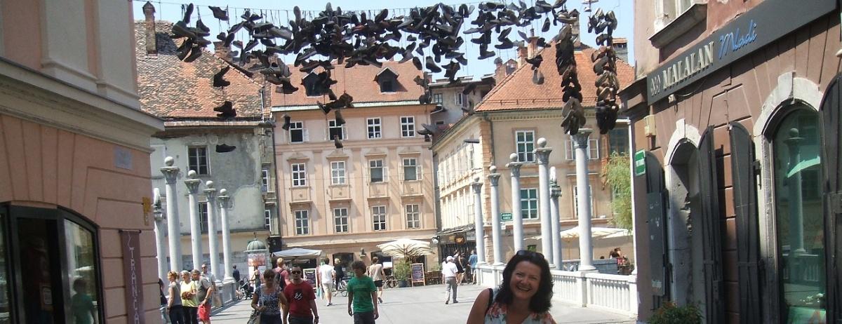 Most szewski w Lublanie