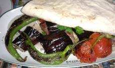 kebab z bakłażanem