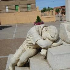 zmęczony pielgrzym