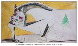 Picasso z cyklu Tauromachia