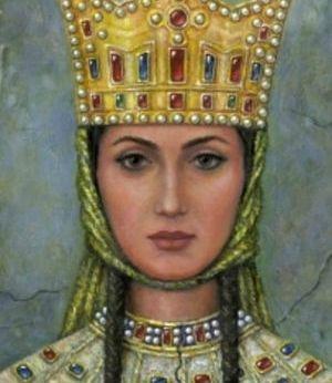 piękna królowa Tamar (z: wikipedia)r