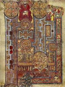 Księga z Kells (fot: wikipedia)