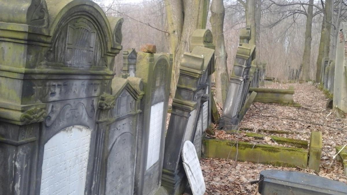 Spacer po przeszłości - cmentarz żydowski w Łodzi