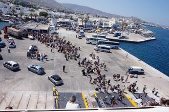 Port przesiadkowy - Paros