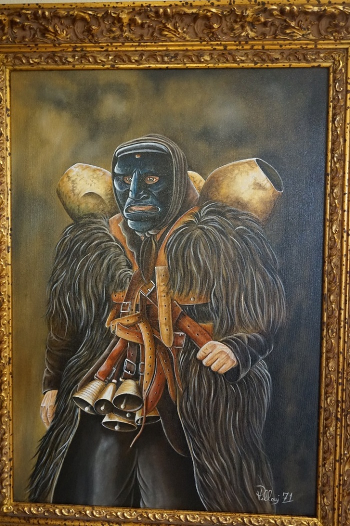 Mamuthone - bohater święta karnawału obchodzonego 16-17 stycznia w miasteczku Mamoiada leżącym w środkowej Sardynii