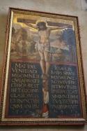 Widzicie ręce trzymające krzyż? Jakie postaci nie pasowały do ewangelickiego kościoła?