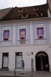 w tym budynku powstał hymn Rumunii
